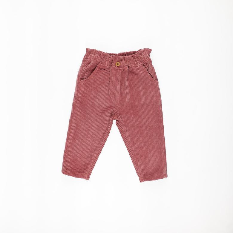 Kız Bebek Kadife Pantolon 2121GB04011
