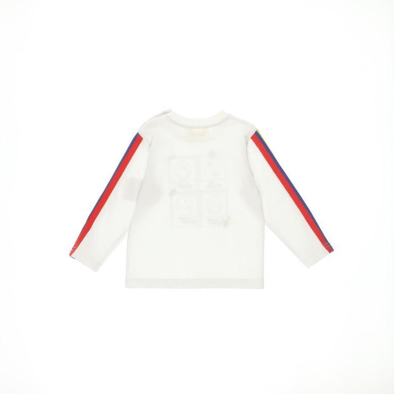 Erkek Bebek Uzun Kollu T-shirt 2121BB05003