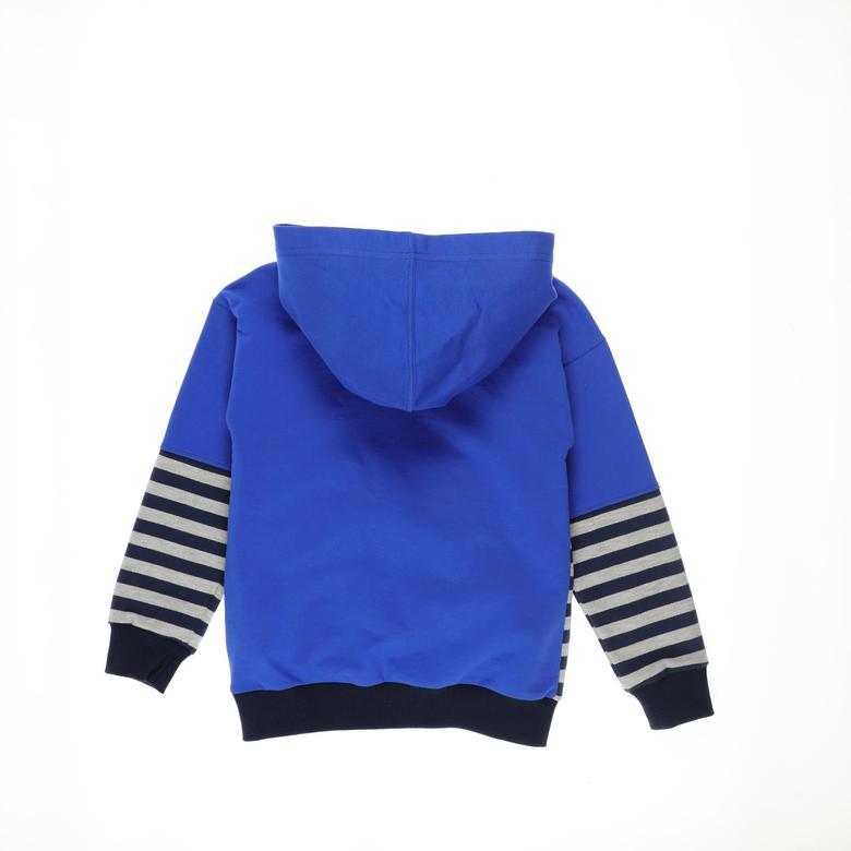 Erkek Çocuk Kapşonlu Sweatshirt 2121BK08024