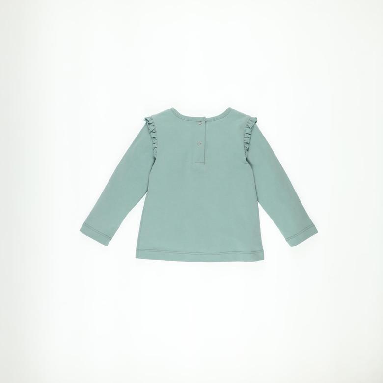 Kız Bebek Uzun Kollu T-shirt 2121GB05002