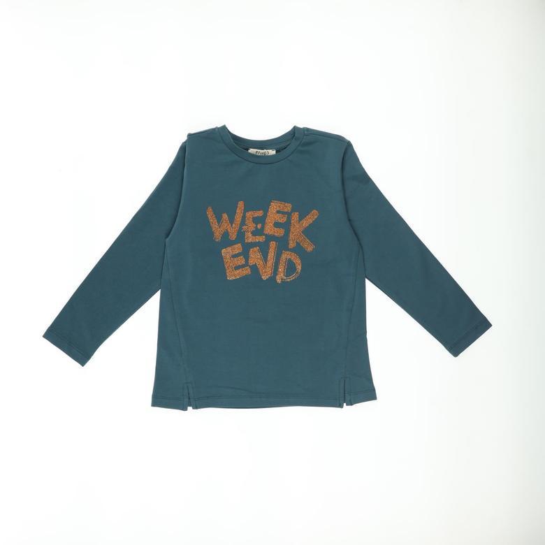 Kız Çocuk Uzun Kollu T-shirt 2121GK05004