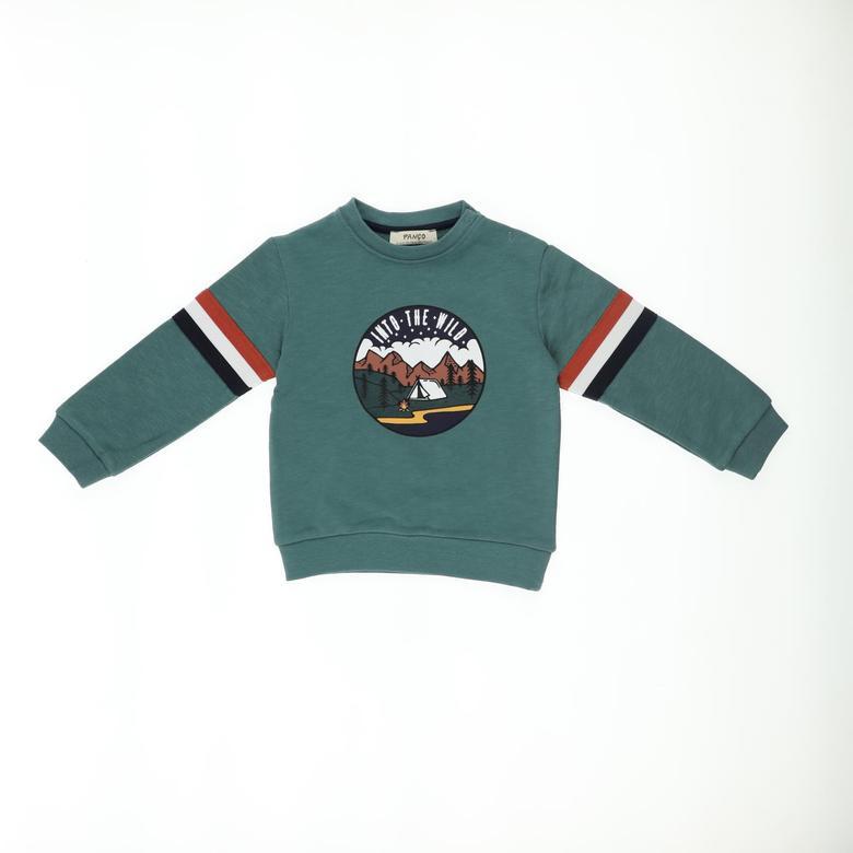 Erkek Bebek Sweatshirt 2121BB08035