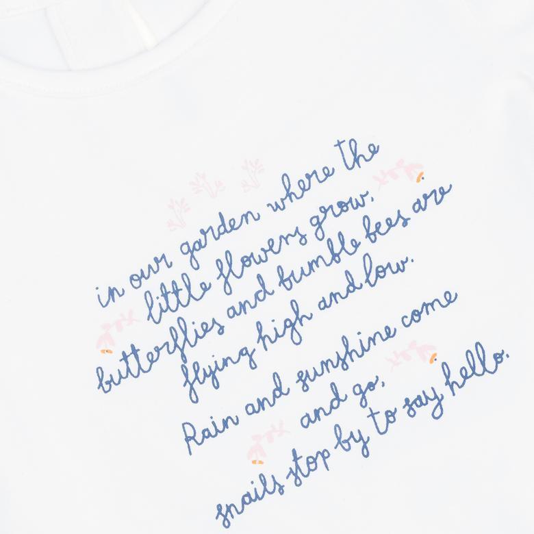Kız Bebek Uzun Kollu T-shirt 2121GB05034