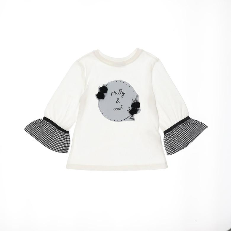Kız Çocuk Uzun Kollu T-shirt 2121GK05007