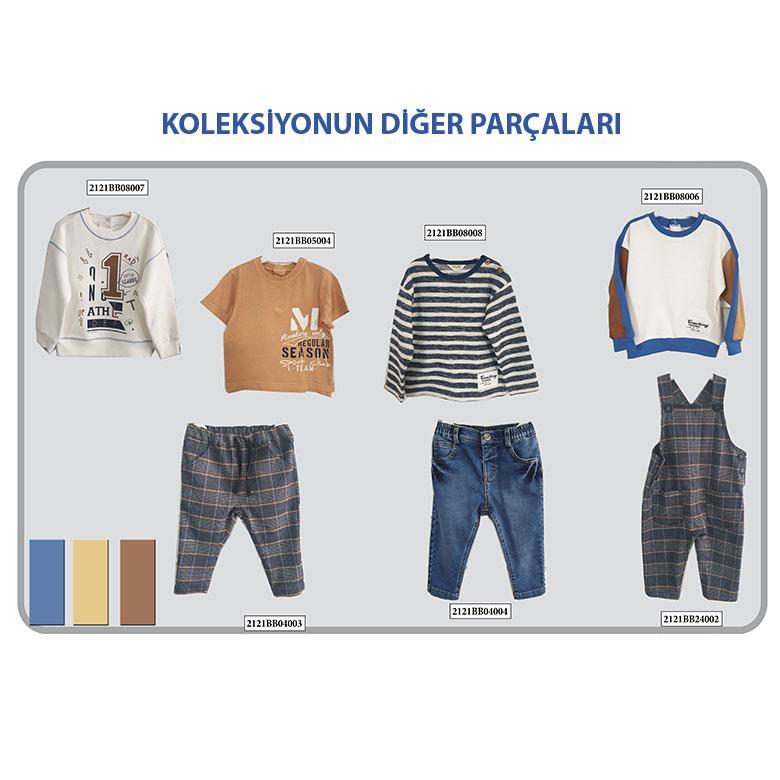 Erkek Bebek Denim Pantolon 2121BB04004