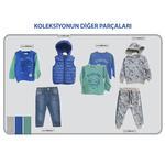 Erkek Bebek Uzun Kollu T-shirt 2121BB05022