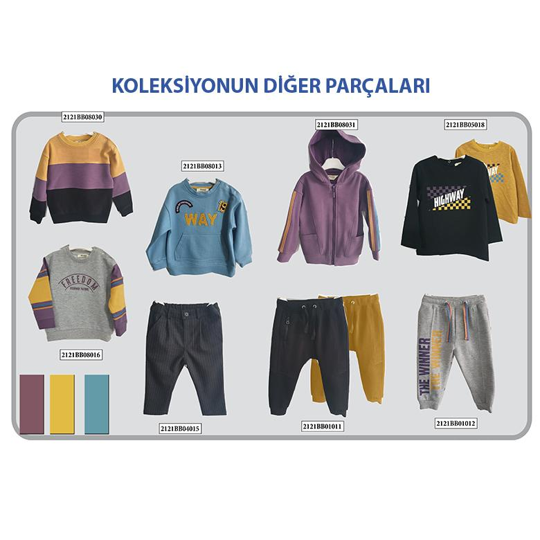 Erkek Bebek Sweatshirt 2121BB08016