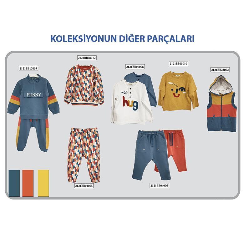 Erkek Bebek Sweatshirt 2121BB08005