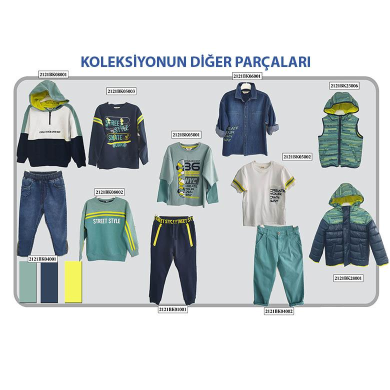 Erkek Çocuk Micro Yelek 2121BK23006