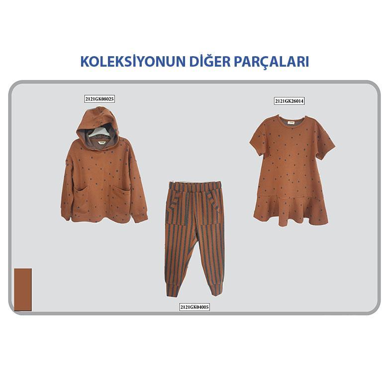 Kız Çocuk Örme Pantolon 2121GK04005