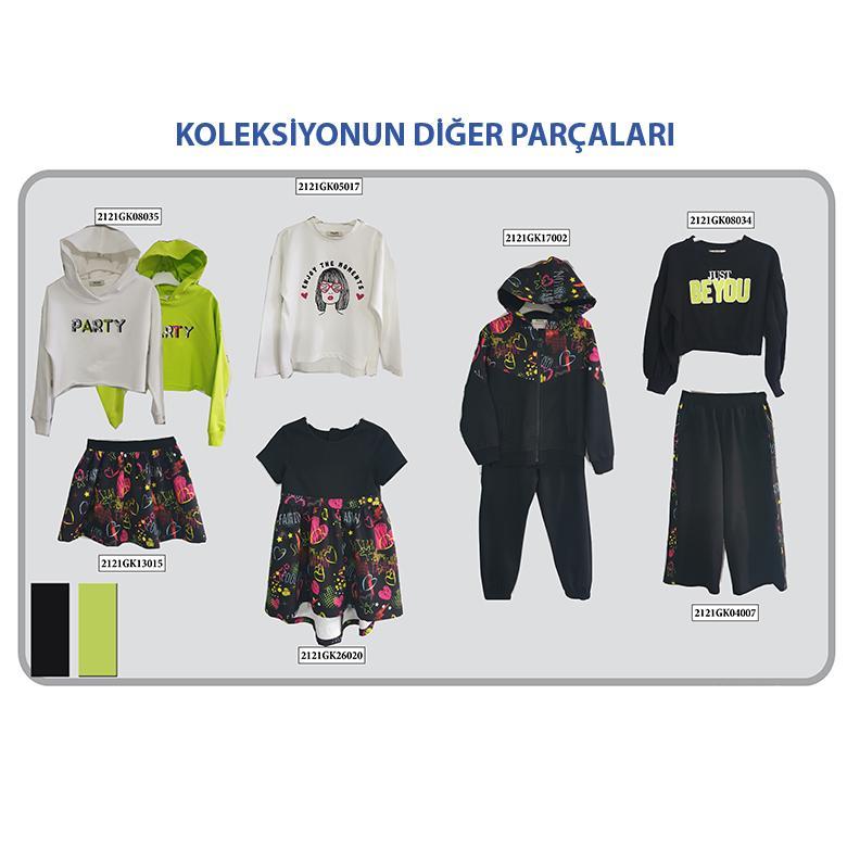 Kız Çocuk Sweatshirt 2121GK08034