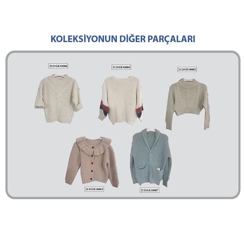 Kız Çocuk Triko Kazak 2121GK18006