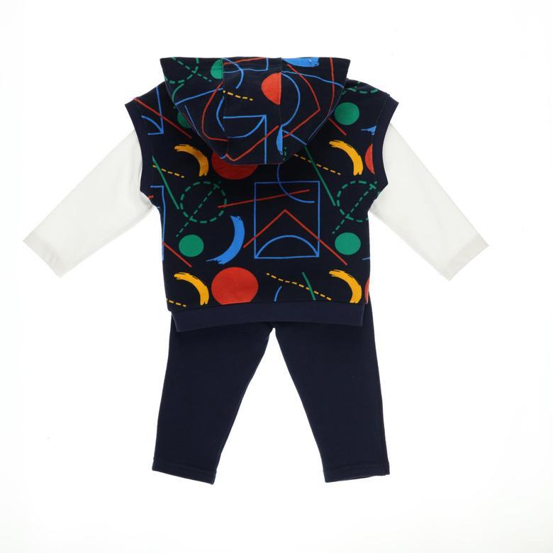Erkek Bebek 3'lü Eşofman Takım 2121BB17005