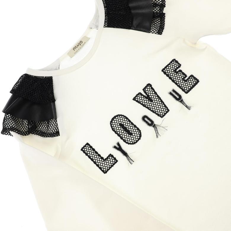 Kız Çocuk Uzun Kollu T-shirt 2121GK05040