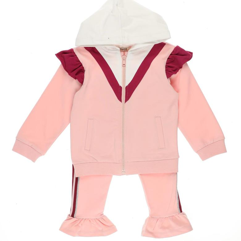 Kız Bebek 2'li Eşofman Takım 2121GB17008