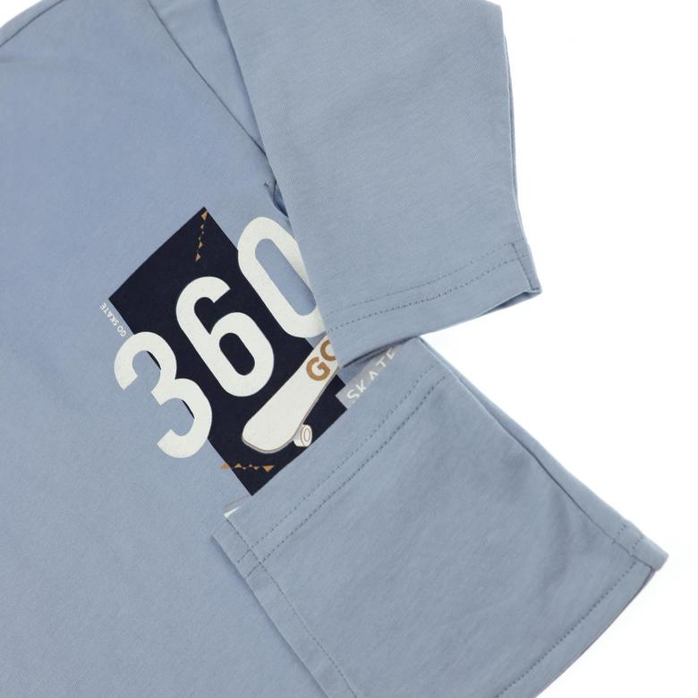 Erkek Bebek Uzun Kollu T-shirt 2121BB05025