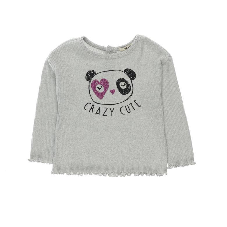 Kız Bebek Uzun Kollu T-shirt 2121GB05012