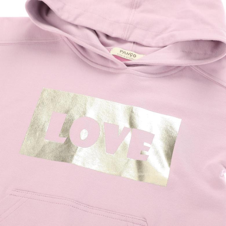 Kız Çocuk Kapşonlu Sweatshirt 2121GK08044