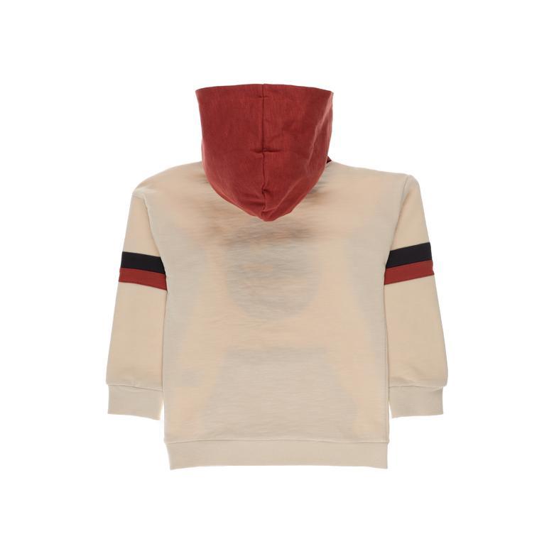 Erkek Çocuk Kapşonlu Sweatshirt 2121BK08056