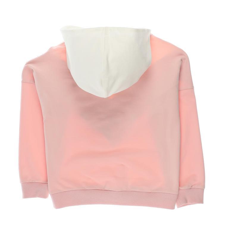 Kız Çocuk Kapşonlu Sweatshirt 2121GK08010