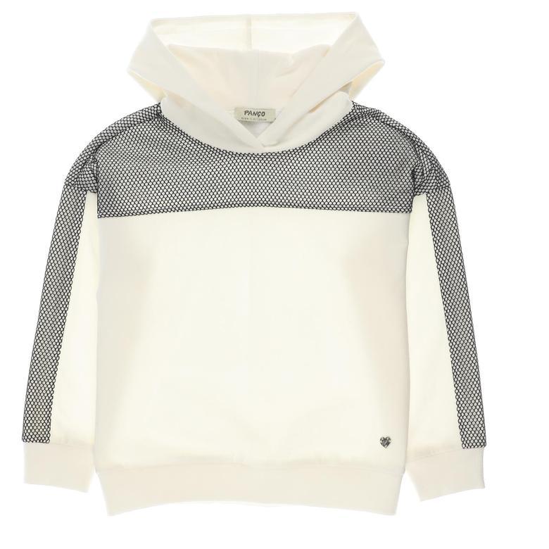 Kız Çocuk Kapşonlu Sweatshirt 2121GK08069