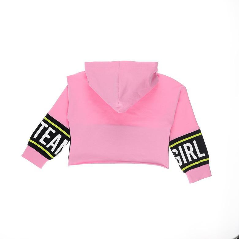 Kız Çocuk Kapşonlu Sweatshirt 2121GK08013